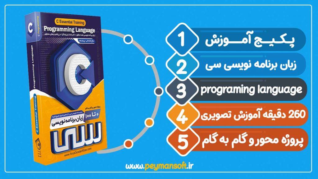 صفر تا صد آموزش سی-آموزش برنامه نویسی سی