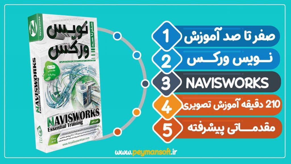 آموزش جامع نرم افزار نویس ورکس Navisworks